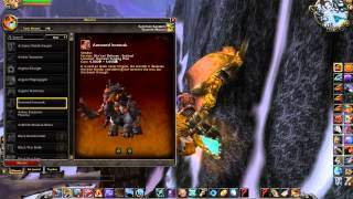 World of Warcraft WoD Mounts UI