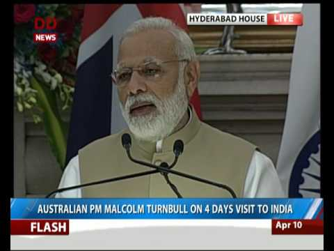Joint Statement of India-Australia Ties