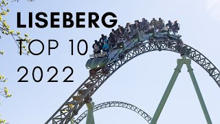 Top 10 Attractions at Liseberg - 2019