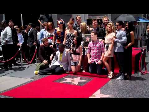 Simon Fuller Unveils Star On The Hollywood Walk Of Fame