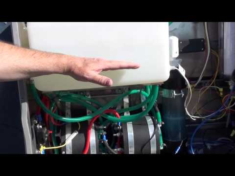 Green Fuel H2o 80 plate system installed on semi. Part 2