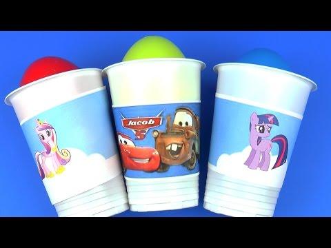 Май Литл пони Дисней Тачки Сюприз Киндер Игрушки Toys Surprise Eggs