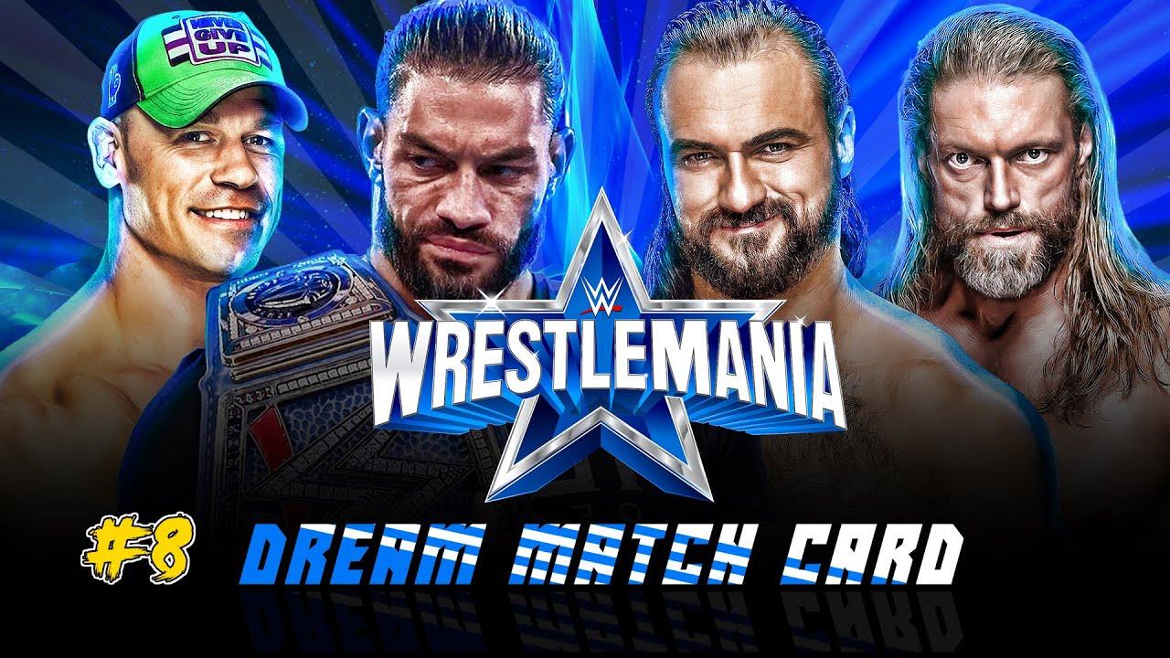 Download WWE Wrestlemania 38   Dream Match Card - My Custom Story #8