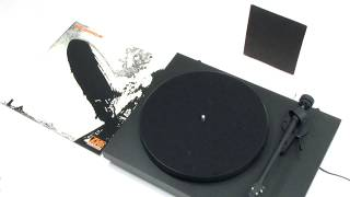 Led Zeppelin - Good Times Bad Times (Official Vinyl Video)