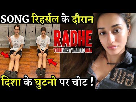 Radhe Song Rehearsal During Disha Patani's Knee Injured Mp3