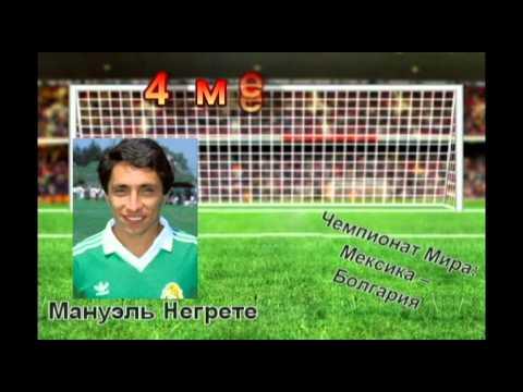 Гол мануэля негретто в матче мексика болгария 1986год