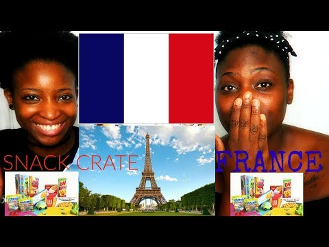 Americans Try French Snacks For the 1st time | Lyfe of Bo | Snackcrate