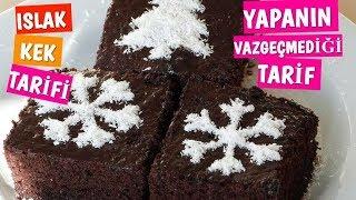Pastane Usulü Islak Kek Tarifi-Browni Kek Tarifi