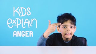 These Kids Try To Explain The Meaning Of Anger | VT