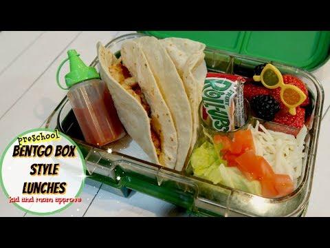BENTGO BOX LUNCH IDEAS ||   03\05 - 03\09\18