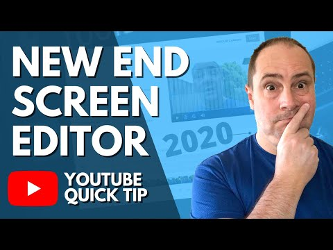 YouTube End Card 2020 - How to Use It!