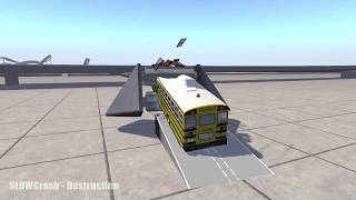 MASSIVE CRUSH DESTRUCTION #1 - BeamNG DRIVE - Android Car Games