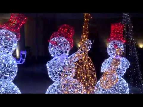 Объезд Верх-Исетского района на предмет новогоднего оформления