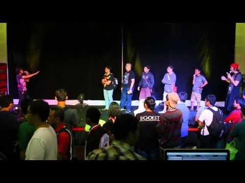 KOMUTOKU PERFORMANCE AT JAKARTA TOYS AND COMIC FAIR 2015