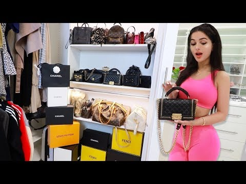 SSSniperWolf My Closet Tour