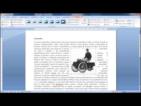 Tutorial Word: Inserire immagini in un testo Office 2007 2010 2013