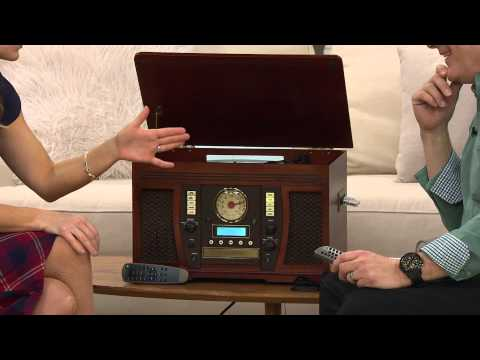 Aviator Recordable 7 In 1 Wooden Music Center With Stacey Stauffer