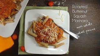Healthy Roasted Butternut Squash Marinara Recipe