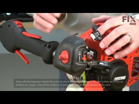 Echo Trimmer Repair – How to replace the Carburetor-Rb-K93