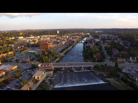 DJI PHANTOM 3 DRONE FLIGHTS: Cambridge, ON, Canada
