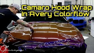 Professional Level How To Wrap A Hood / Bonnet With Recessed Area Using Avery Colorflow