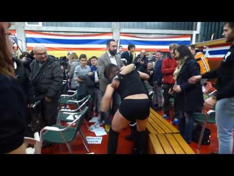 Italian Extreme Title - Nicolò Ferrari v Luke Zero (arena sound)
