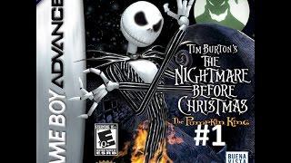 Tim burton ~ The nightmare before christmas GBA 1