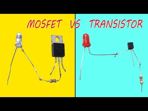 MOSFET vs Transistor Experiment