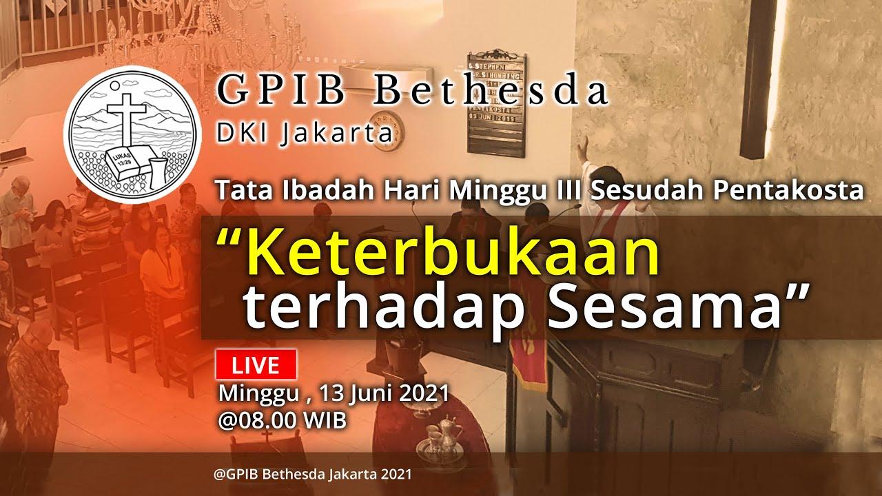 Ibadah Hari Minggu III Sesudah Pentakosta (13 Juni 2021)