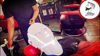 LED MASK FACIAL Barberhop en Tijuana Korean Barber