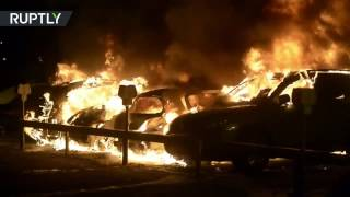 В Швеции неизвестные устраивают массовые поджоги машин