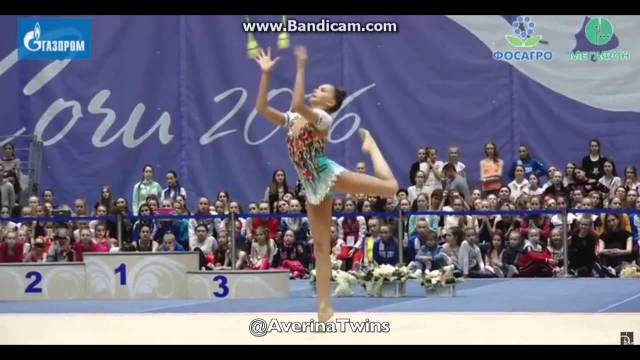 Ganna Rizatdinova (Ukraine), Corbeil 2016 | Rhythmic