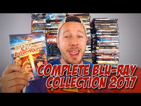 Complete Blu-Ray Collection 2017!  (DVD Collection)