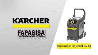 Vaporizadora Industrial SGV 6/5  - Kärcher FAPASISA Paraguay