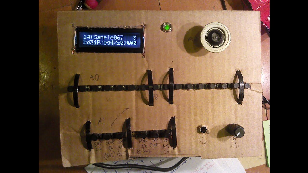 7df5b1b0e4117 Arduino WaveShield Sampler prototype by Dani Dögenigt