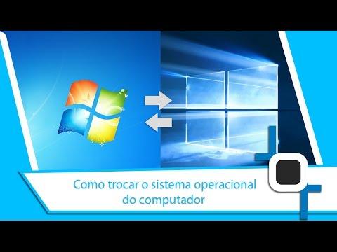 Como trocar o sistema operacional do computador