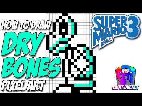 Art Super Mario Bros 3 Pixel Art