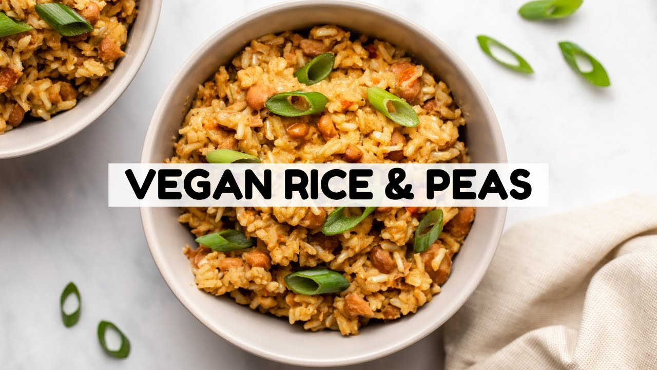 Vegan Jamaican Rice & Peas (Tasty & Budget-Friendly!)