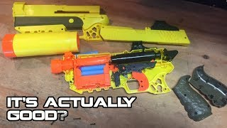 NERF x FORTNITE SP-L (Suppressed Pistol) Review & Teardown | Walcom S7
