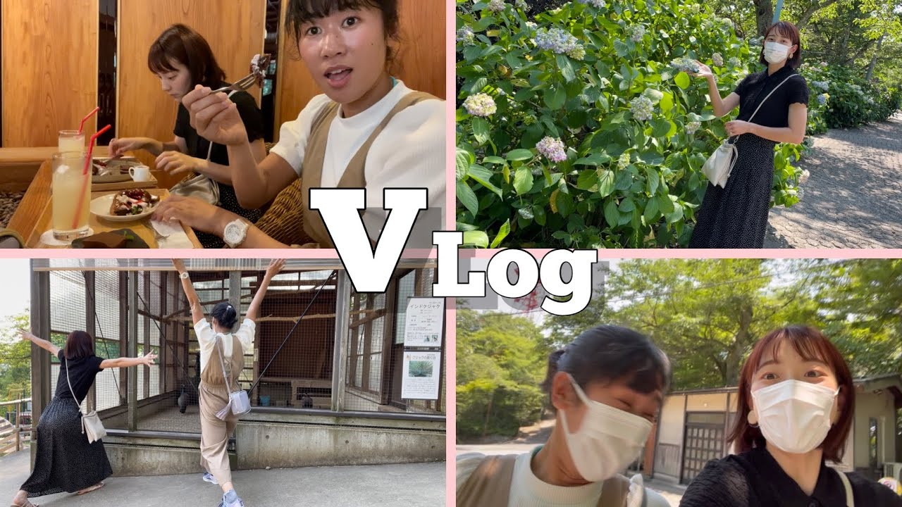 【Vlog】陸上選手の休日♪福井市にある足羽山でリフレッシュしてきたいちことボコブリン。