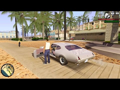 GTA SAN ANDREAS REMASTERED Gameplay (4K)