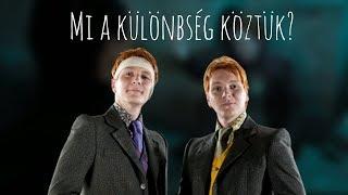A különbségek Fred és George Weasley között! | Harry Potter Világa