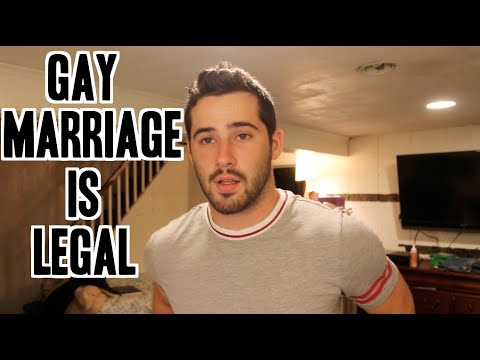 Gay Marriage Is Legal