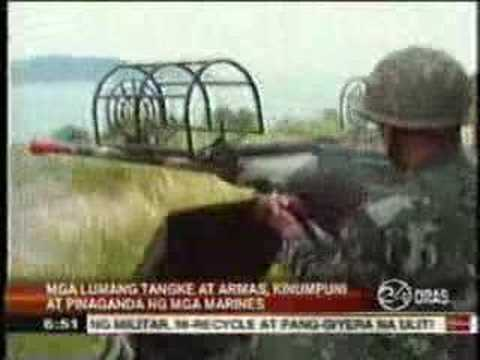 Philippine Marine Corps Self-Reliance, Philippine Navy GMA news report with Col John Martir