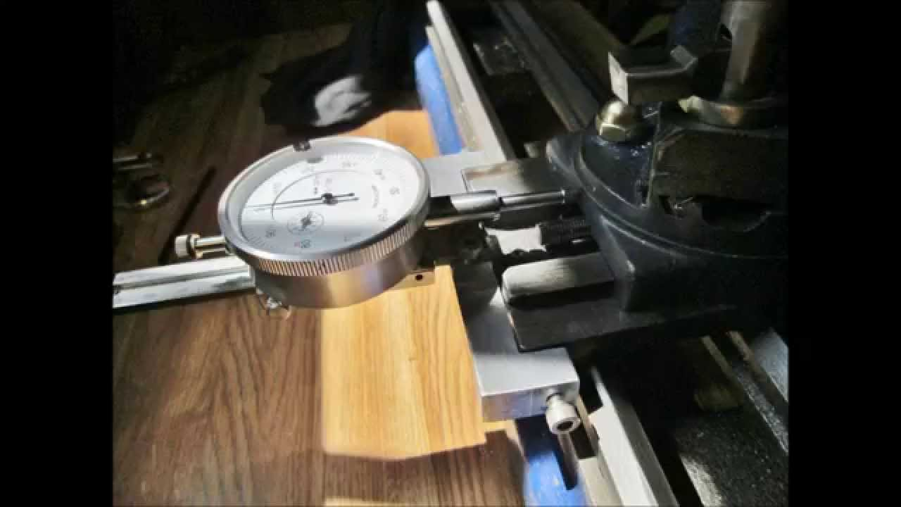 Dial Indicator Mounting In Collet : Dial indicator mount for lathe youtube