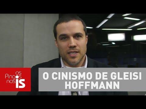 Felipe Moura Brasil: O cinismo de Gleisi Hoffmann no Foro de São Paulo