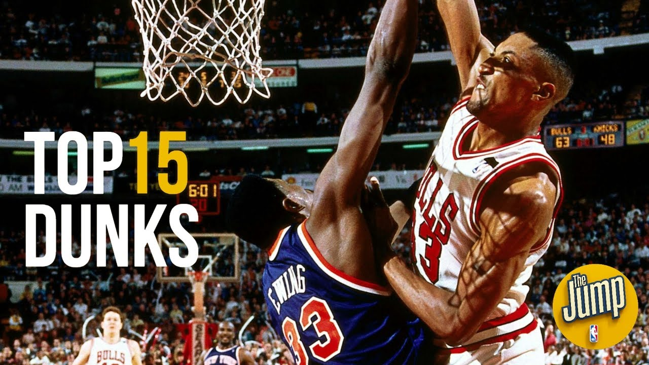Top 15 Most Memorable Nba Dunks Of All Time The Jump