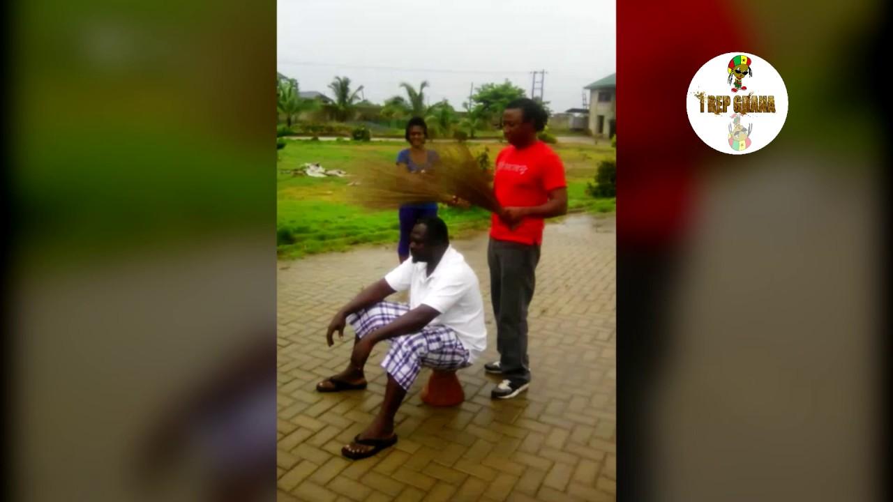 Download Shocking Ghanaian Lie Detector Test - Traditional Broom Method (Voodoo)