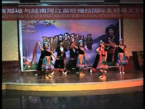 Múa Dân tộc Mông - Đoàn NT Cao nguyên xanh - Mèo Vạc