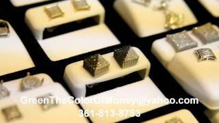 Iced Out Earrings(REAL DIAMONDS)
